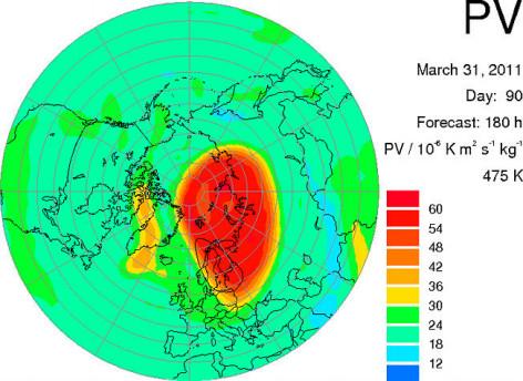 Gaura din stratul de ozon vine peste Romania