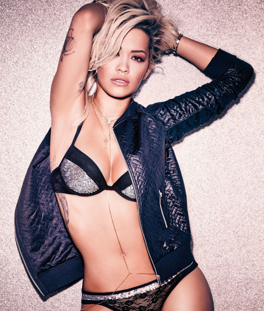 Rita Ora is the new face of italian lingerie brand Teens